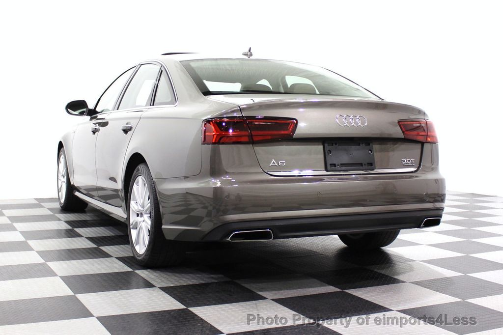 2016 Audi A6 CERTIFIED A6 3.0T Supercharged Quattro AWD Blind Spot CAMERA NAV - 18227510 - 54