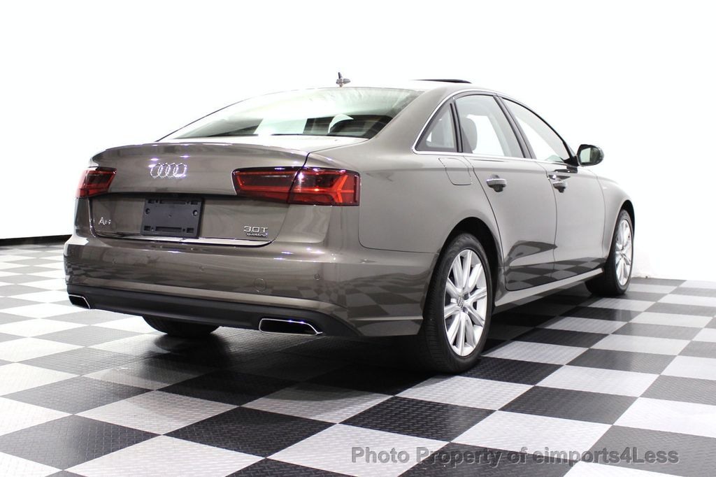 2016 Audi A6 CERTIFIED A6 3.0T Supercharged Quattro AWD Blind Spot CAMERA NAV - 18227510 - 55
