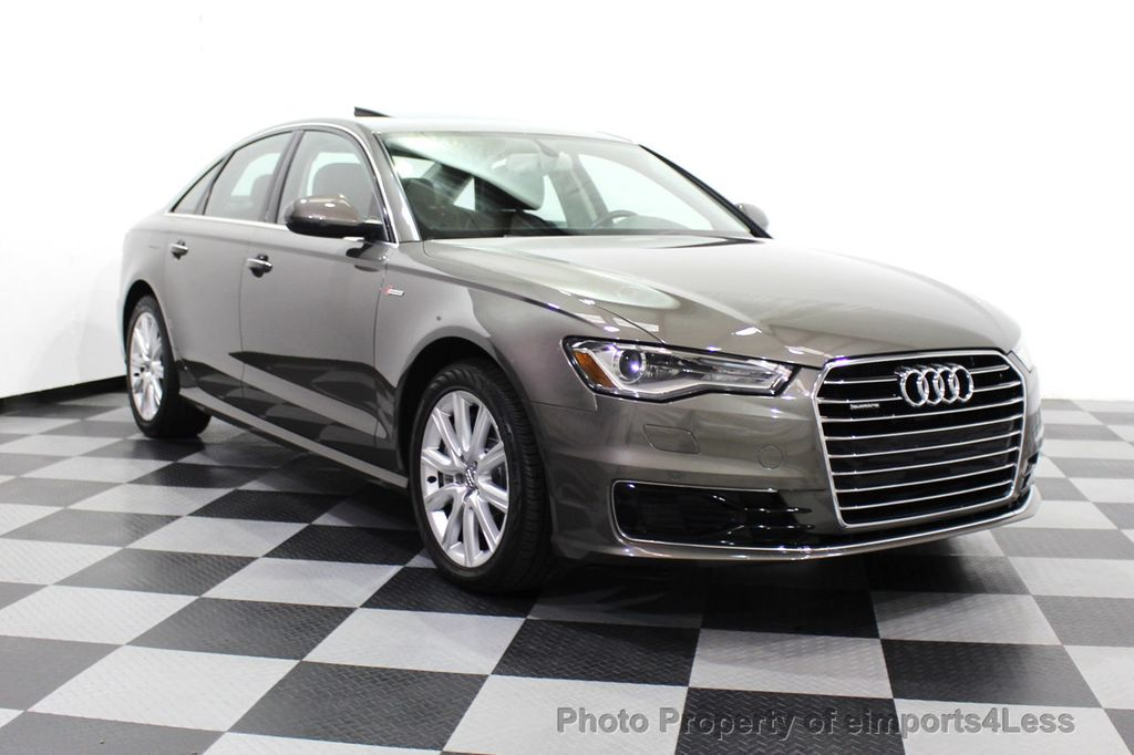 2016 Audi A6 CERTIFIED A6 3.0T Supercharged Quattro AWD Blind Spot CAMERA NAV - 18227510 - 56