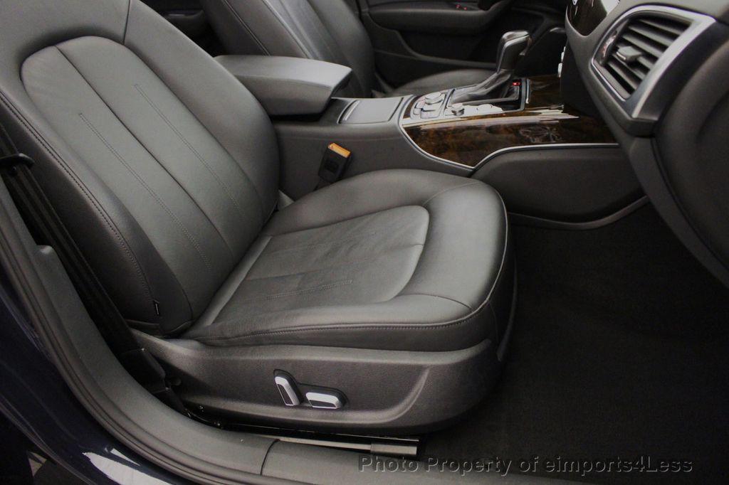 2016 Audi A6 CERTIFIED A6 3.0T V6 Quattro AWD BLIS CAMERA NAV - 18081085 - 24