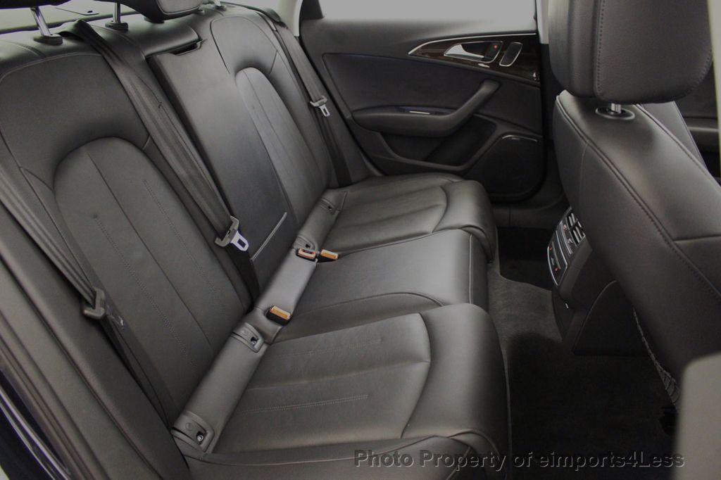 2016 Audi A6 CERTIFIED A6 3.0T V6 Quattro AWD BLIS CAMERA NAV - 18081085 - 37