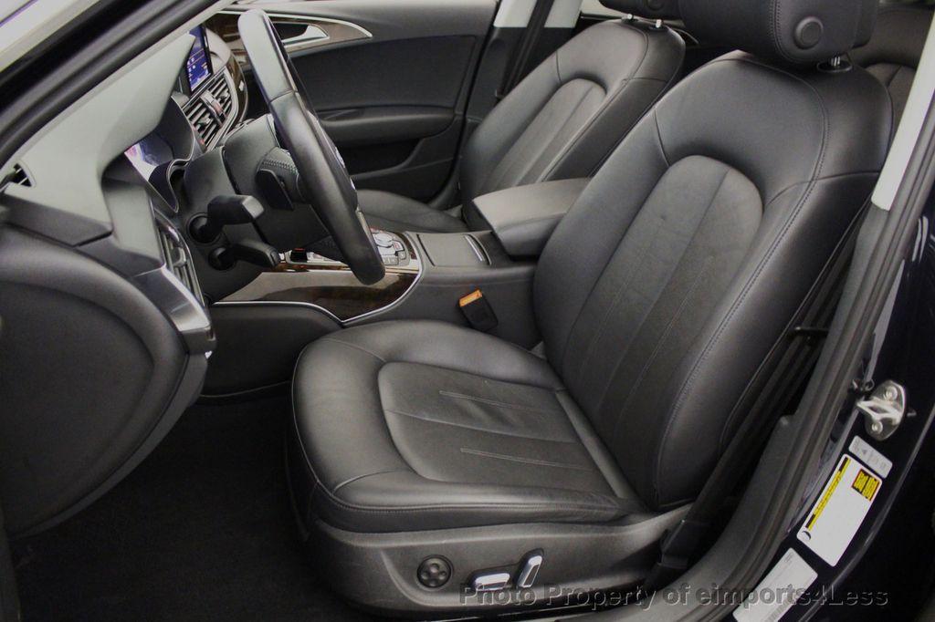 2016 Audi A6 CERTIFIED A6 3.0T V6 Quattro AWD BLIS CAMERA NAV - 18081085 - 38