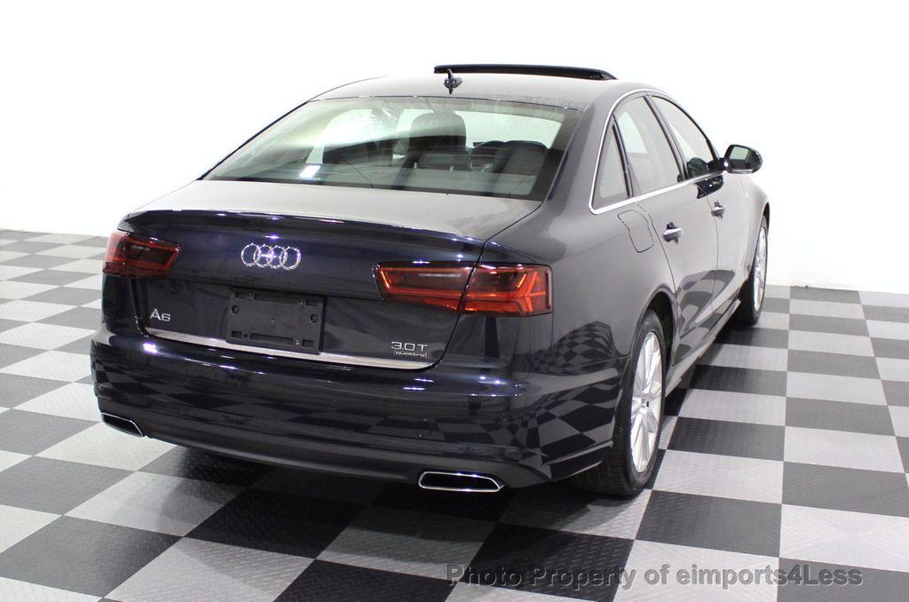 2016 Audi A6 CERTIFIED A6 3.0T V6 Quattro AWD BLIS CAMERA NAV - 18081085 - 3