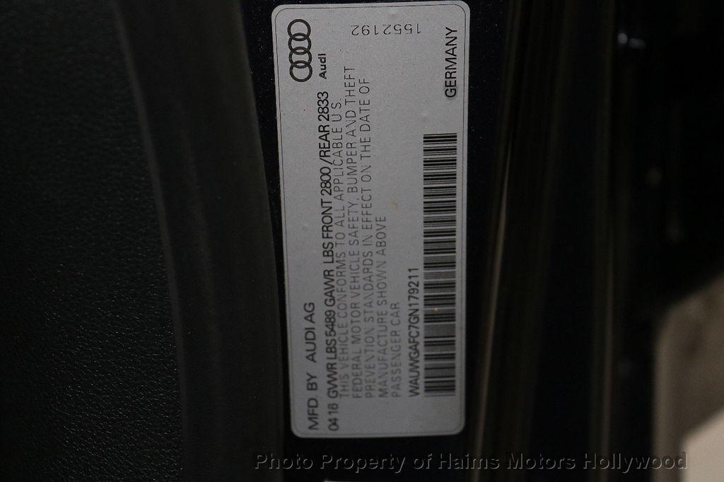2016 Audi A7 4dr Hatchback quattro 3.0 Premium Plus - 18491799 - 40