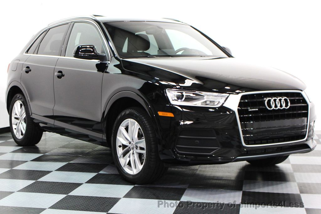 2016 used audi q3 certified q3 quattro awd suv camera navigation at eimports4less serving. Black Bedroom Furniture Sets. Home Design Ideas