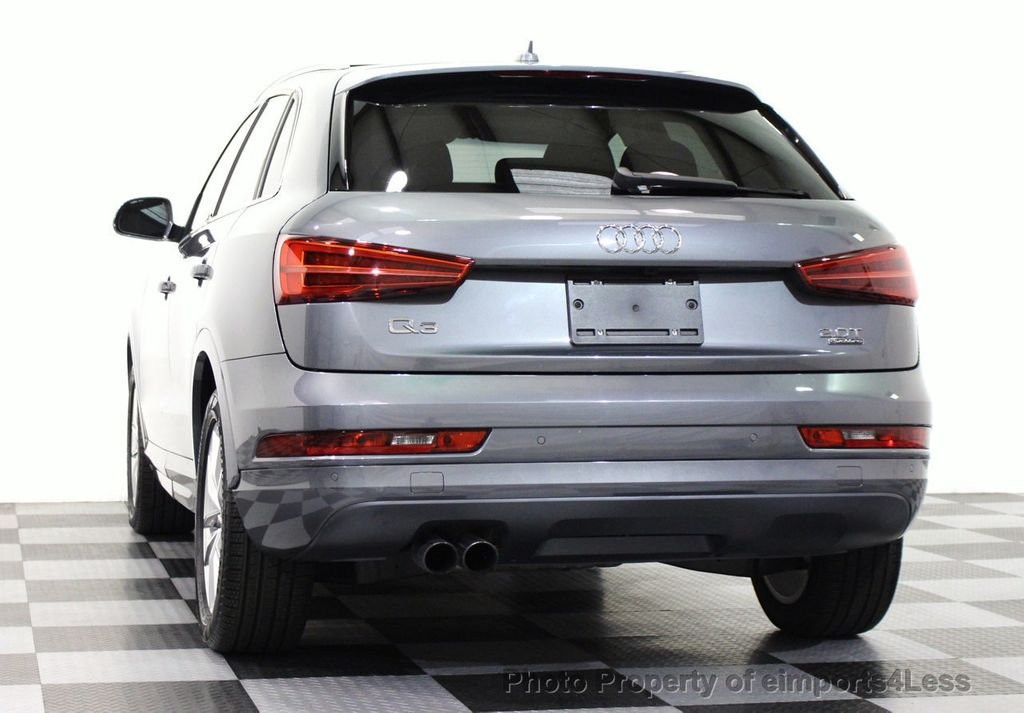2016 used audi q3 certified q3 quattro premium plus awd blis navigation at eimports4less. Black Bedroom Furniture Sets. Home Design Ideas