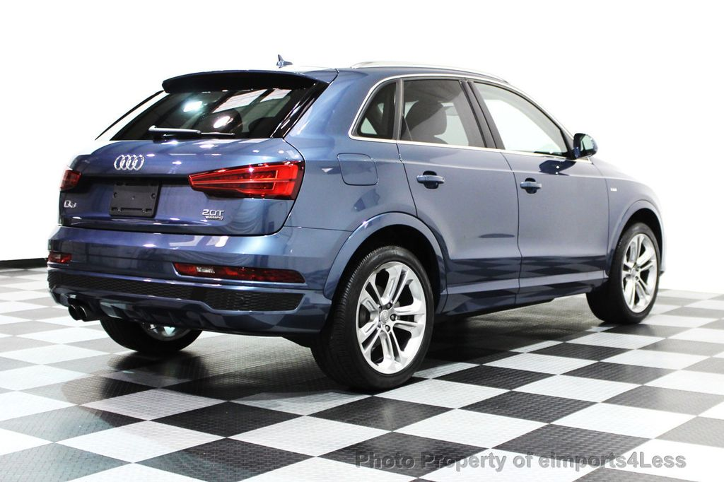 2016 used audi q3 certified q3 2 0t quattro s line prestige awd suv navi at eimports4less. Black Bedroom Furniture Sets. Home Design Ideas