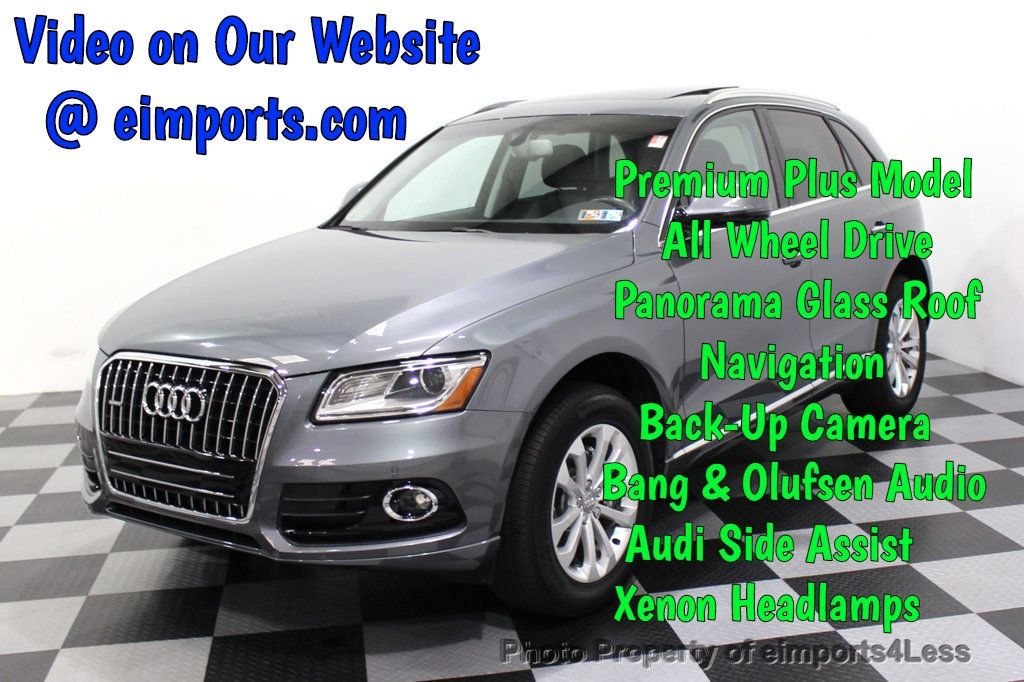 2016 Audi Q5 CERTIFIED Q5 2.0t Quattro Premium Plus AWD TECH CAMERA NAV - 18086124 - 0
