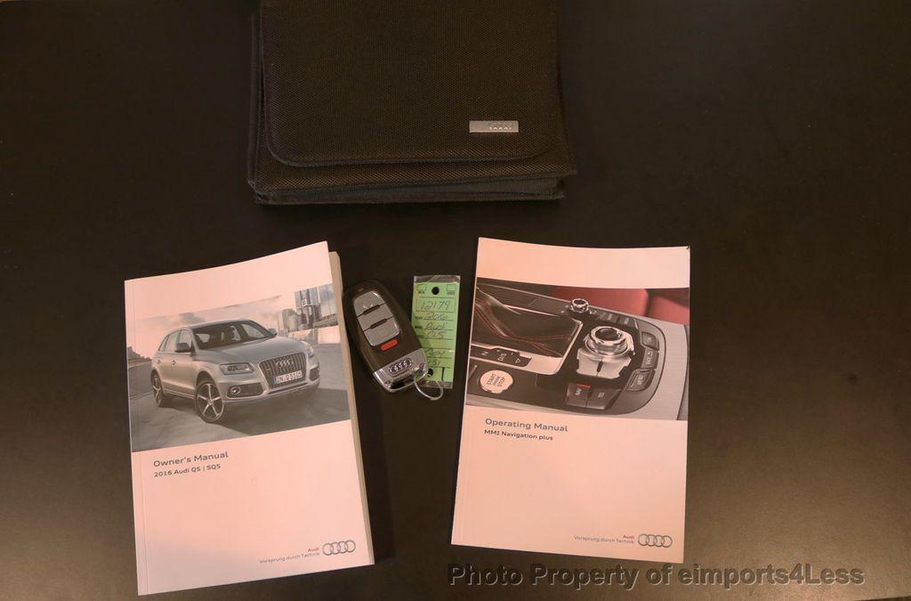 2016 Audi Q5 CERTIFIED Q5 2.0t Quattro Premium PLUS AWD TECH NAV - 17759840 - 40