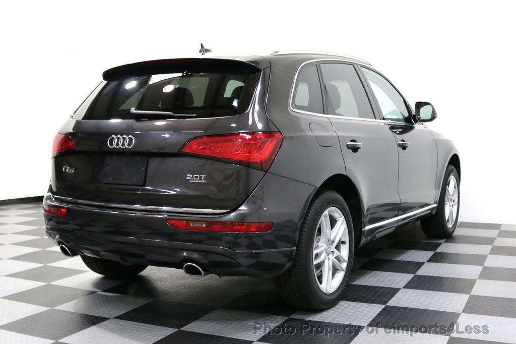 2016 Audi Q5 CERTIFIED Q5 2.0t Quattro Premium PLUS AWD TECH NAV - 17759840 - 47