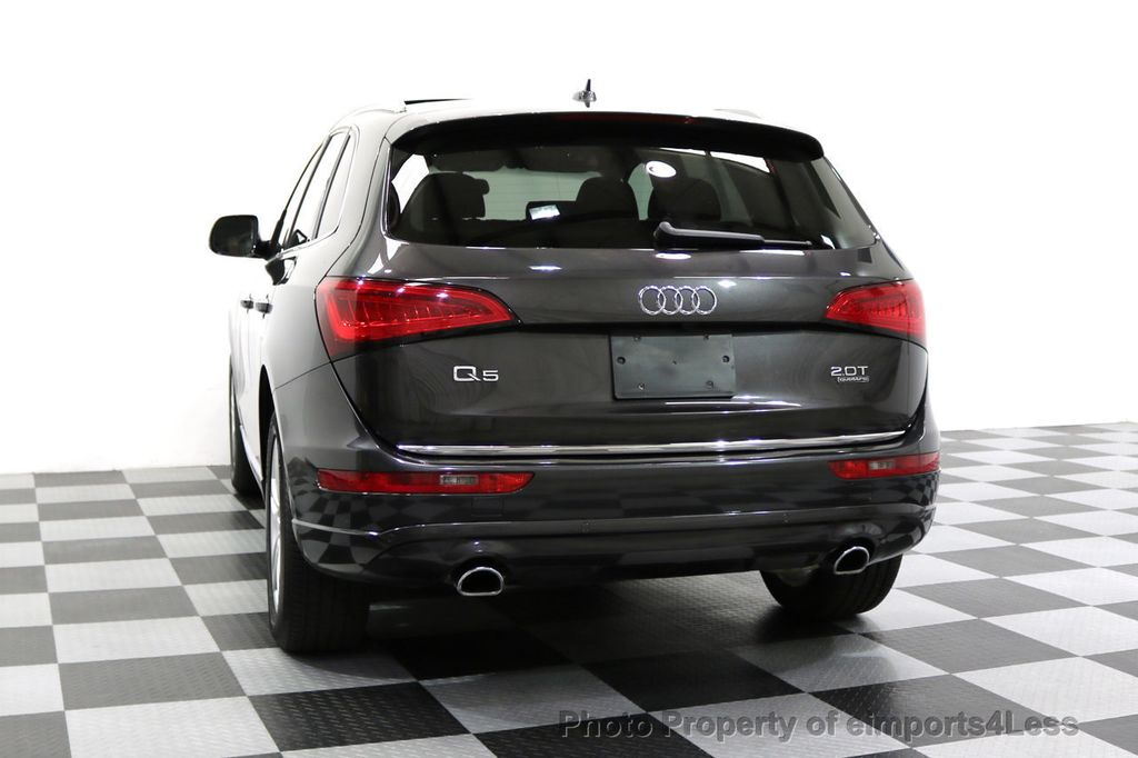 2016 Audi Q5 CERTIFIED Q5 2.0t Quattro Premium PLUS AWD TECH NAV - 17759840 - 54