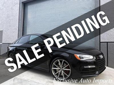 2016 Audi S3 2016 AUDI 8V S3 TURBO AWD SEDAN DSG BLACK OPTIC LOW MILES!