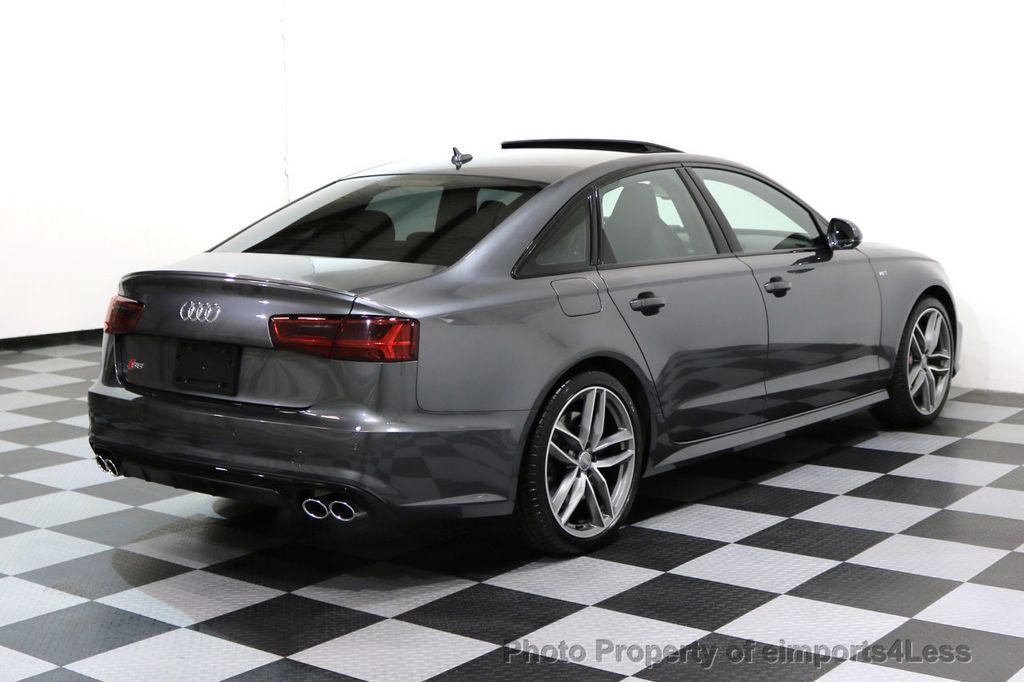 2016 Used Audi S6 CERTIFIED S6 4.0T Quattro PRESTIGE AWD Black Optic