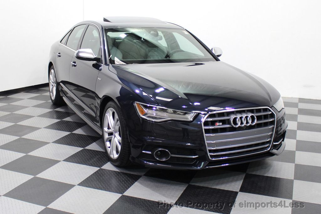 2016 Audi S6 CERTIFIED S6 4.0T V8 Quattro Sport Package DRIVER ASSIST - 18130111 - 17