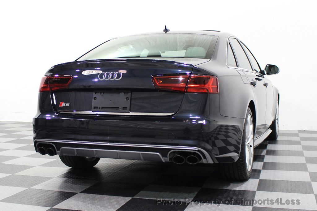 2016 Audi S6 CERTIFIED S6 4.0T V8 Quattro Sport Package DRIVER ASSIST - 18130111 - 34