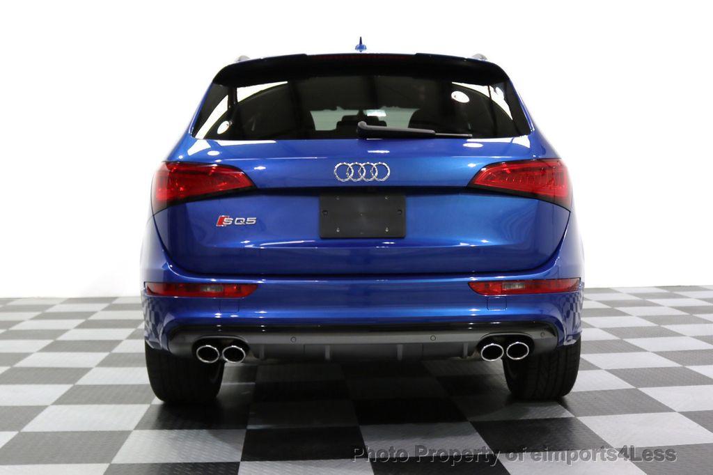 2016 Audi SQ5 CERTIFIED SQ5 3.0T Quattro BLACK OPTIC TECH CAM NAV - 17679322 - 31