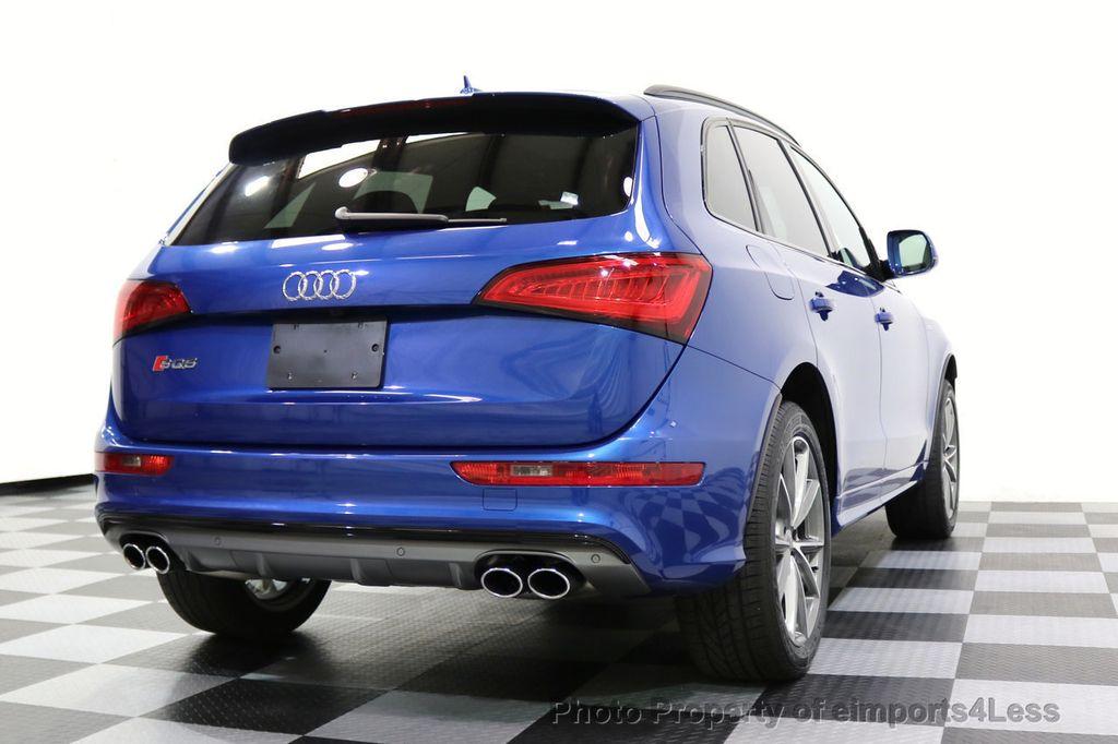 2016 Audi SQ5 CERTIFIED SQ5 3.0T Quattro BLACK OPTIC TECH CAM NAV - 17679322 - 32