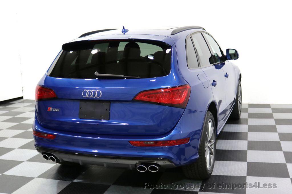 2016 Audi SQ5 CERTIFIED SQ5 3.0T Quattro BLACK OPTIC TECH CAM NAV - 17679322 - 53
