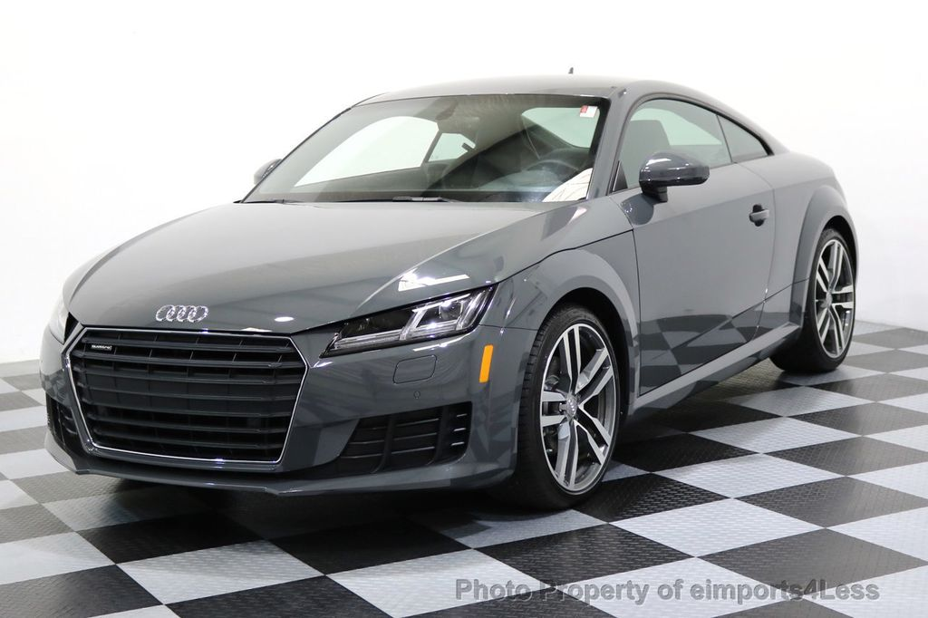 2016 used audi tt certified tt 2 0t quattro awd s sport. Black Bedroom Furniture Sets. Home Design Ideas