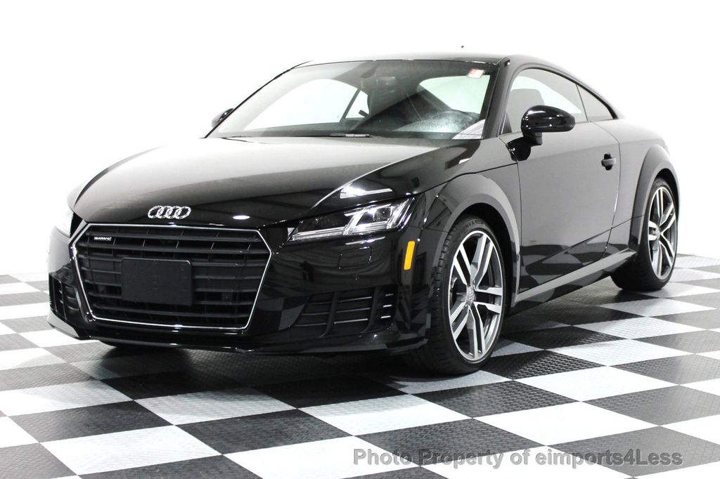 2016 used audi tt certified tt coupe 2 0t quattro awd tech navi at eimports4less serving. Black Bedroom Furniture Sets. Home Design Ideas
