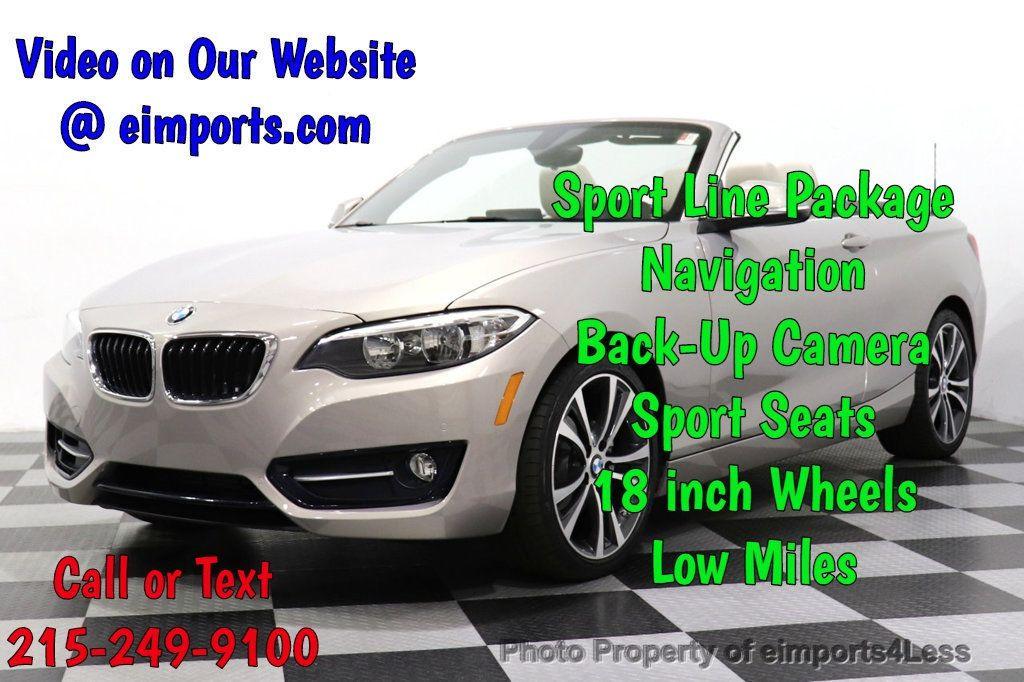2016 BMW 2 Series CERTIFIED 228i Sport Line PREMIUM NAV CAMERA - 18561270 - 0