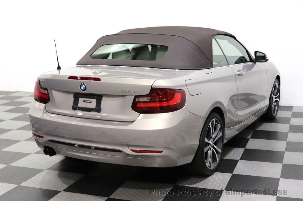 2016 BMW 2 Series CERTIFIED 228i Sport Line PREMIUM NAV CAMERA - 18561270 - 3