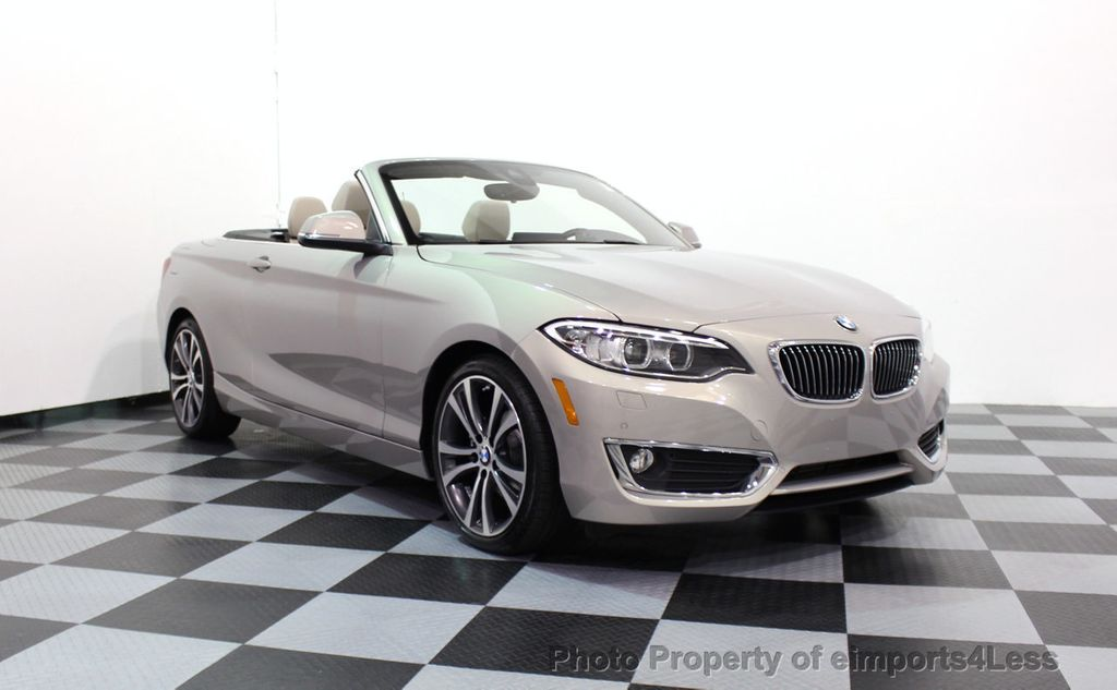 2016 BMW 2 Series CERTIFIED 228i xDRIVE AWD CABRIOLET CAMERA NAVI   - 16901978 - 14