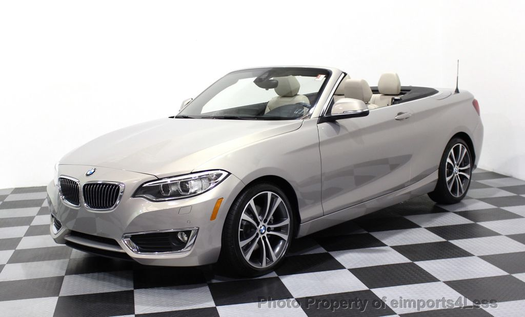 2016 BMW 2 Series CERTIFIED 228i xDRIVE AWD CABRIOLET CAMERA NAVI   - 16901978 - 26