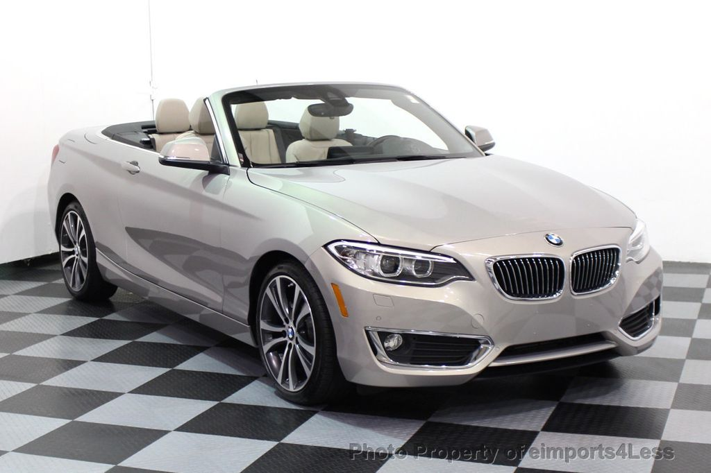 2016 BMW 2 Series CERTIFIED 228i xDRIVE AWD CABRIOLET CAMERA NAVI   - 16901978 - 27