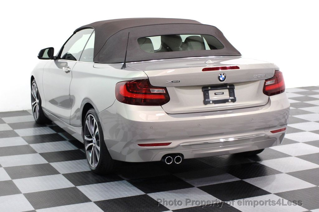 2016 BMW 2 Series CERTIFIED 228i xDRIVE AWD CABRIOLET CAMERA NAVI   - 16901978 - 2
