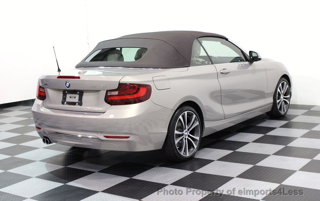 2016 BMW 2 Series CERTIFIED 228i xDRIVE AWD CABRIOLET CAMERA NAVI   - 16901978 - 3