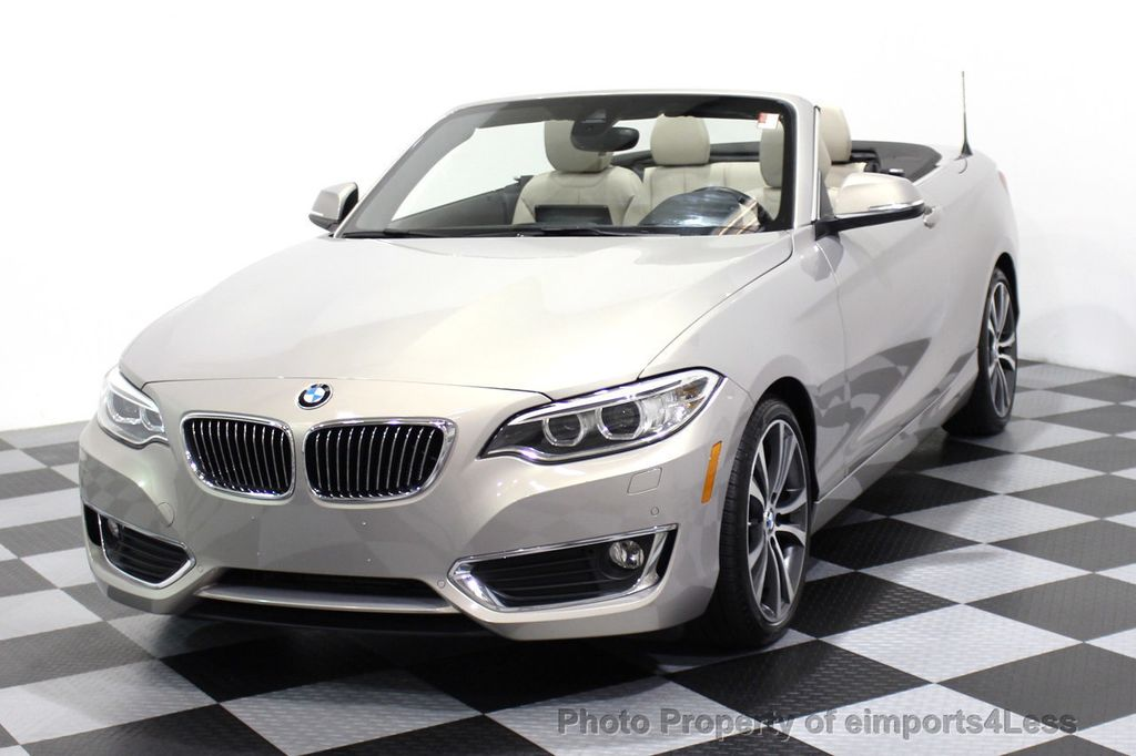 2016 BMW 2 Series CERTIFIED 228i xDRIVE AWD CABRIOLET CAMERA NAVI   - 16901978 - 41