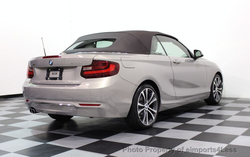 2016 BMW 2 Series CERTIFIED 228i xDRIVE AWD CABRIOLET CAMERA NAVI   - 16901978 - 43