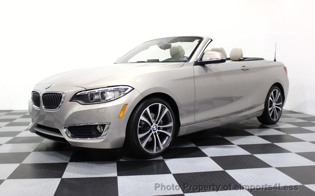 2016 BMW 2 Series CERTIFIED 228i xDRIVE AWD CABRIOLET CAMERA NAVI   - 16901978 - 45