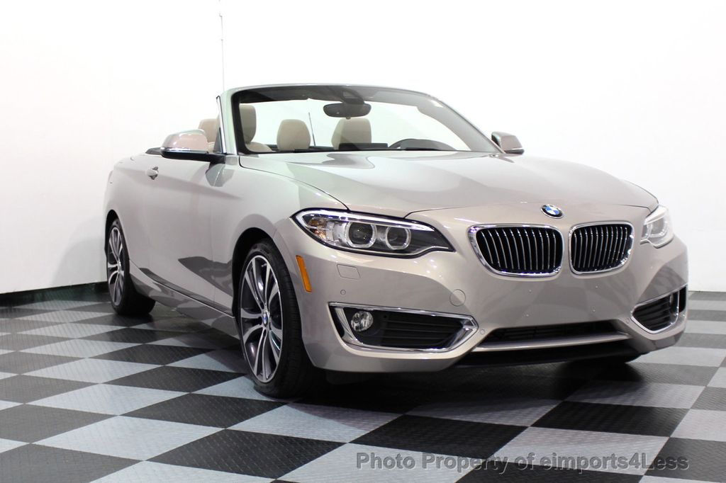 Used BMW Series CERTIFIED I XDRIVE AWD CABRIOLET CAMERA - 228i bmw