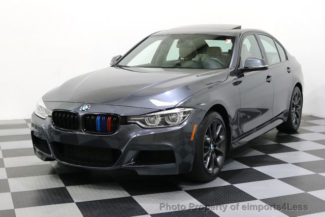 2016 Used BMW 3 Series CERTIFIED 340i xDRIVE M SPORT TRACK ...