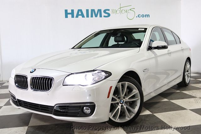 2016 Bmw 5 Series 535i Sedan For Sale Hollywood Fl 29977