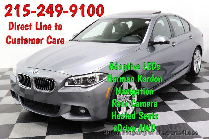 2016 BMW 5 Series CERTIFIED 535i xDrive AWD M SPORT BLIND SPOT NAVI CAMERA - 18423158 - 0