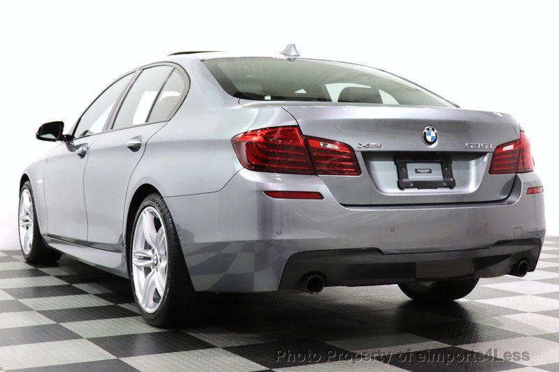 2016 BMW 5 Series CERTIFIED 535i xDrive AWD M SPORT BLIND SPOT NAVI CAMERA - 18423158 - 13