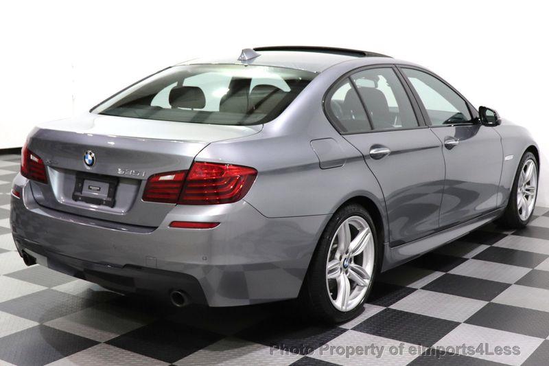 2016 BMW 5 Series CERTIFIED 535i xDrive AWD M SPORT BLIND SPOT NAVI CAMERA - 18423158 - 15