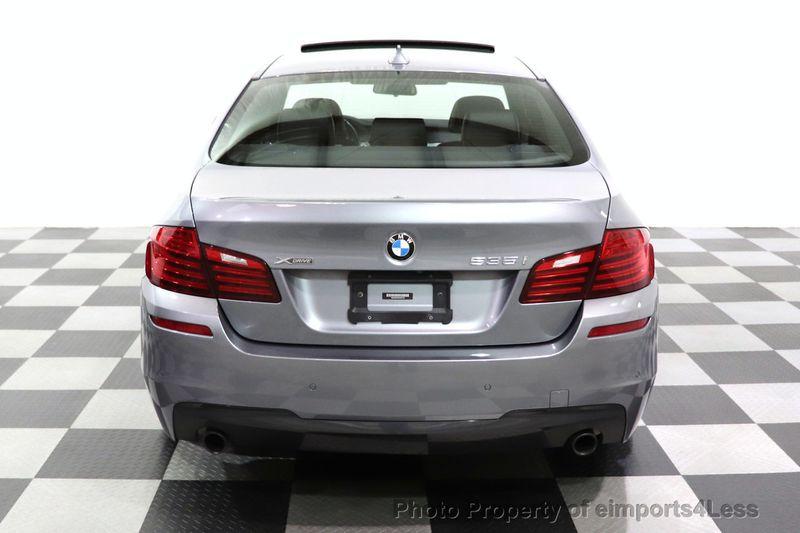 2016 BMW 5 Series CERTIFIED 535i xDrive AWD M SPORT BLIND SPOT NAVI CAMERA - 18423158 - 25