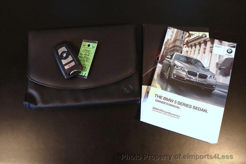 2016 BMW 5 Series CERTIFIED 535i xDrive AWD M SPORT BLIND SPOT NAVI CAMERA - 18423158 - 34
