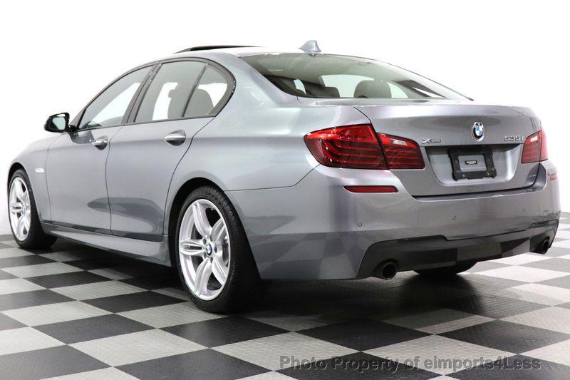 2016 BMW 5 Series CERTIFIED 535i xDrive AWD M SPORT BLIND SPOT NAVI CAMERA - 18423158 - 37