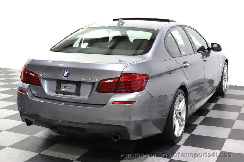 2016 BMW 5 Series CERTIFIED 535i xDrive AWD M SPORT BLIND SPOT NAVI CAMERA - 18423158 - 38