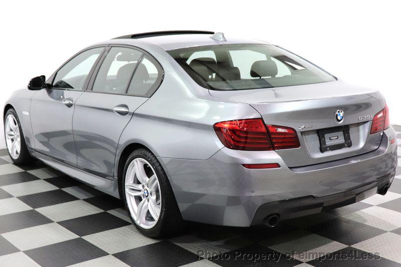 2016 BMW 5 Series CERTIFIED 535i xDrive AWD M SPORT BLIND SPOT NAVI CAMERA - 18423158 - 3