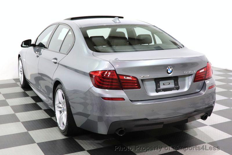2016 BMW 5 Series CERTIFIED 535i xDrive AWD M SPORT BLIND SPOT NAVI CAMERA - 18423158 - 44