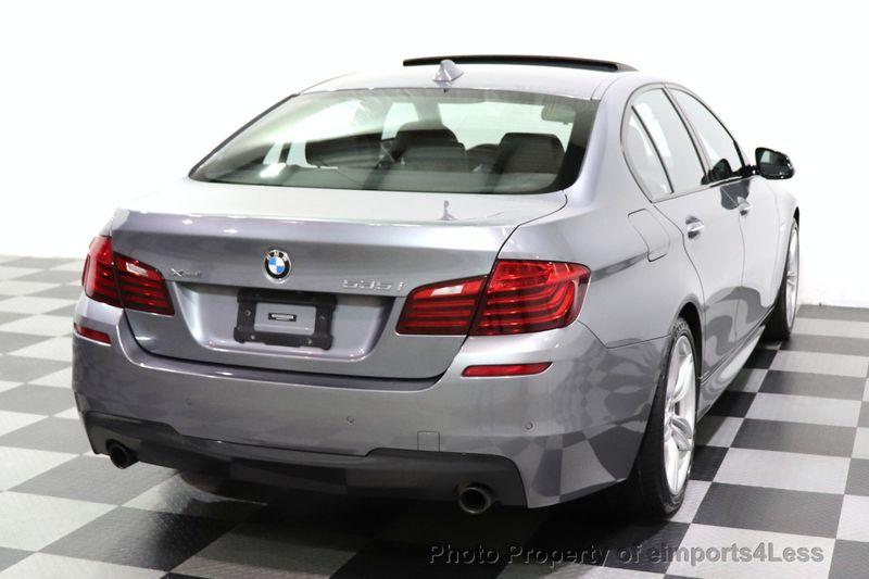 2016 BMW 5 Series CERTIFIED 535i xDrive AWD M SPORT BLIND SPOT NAVI CAMERA - 18423158 - 45