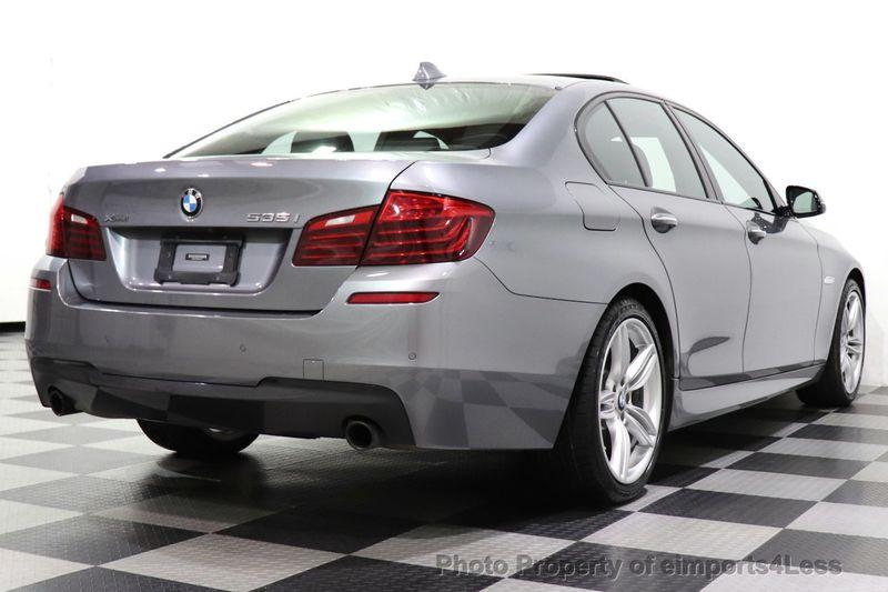 2016 BMW 5 Series CERTIFIED 535i xDrive AWD M SPORT BLIND SPOT NAVI CAMERA - 18423158 - 4