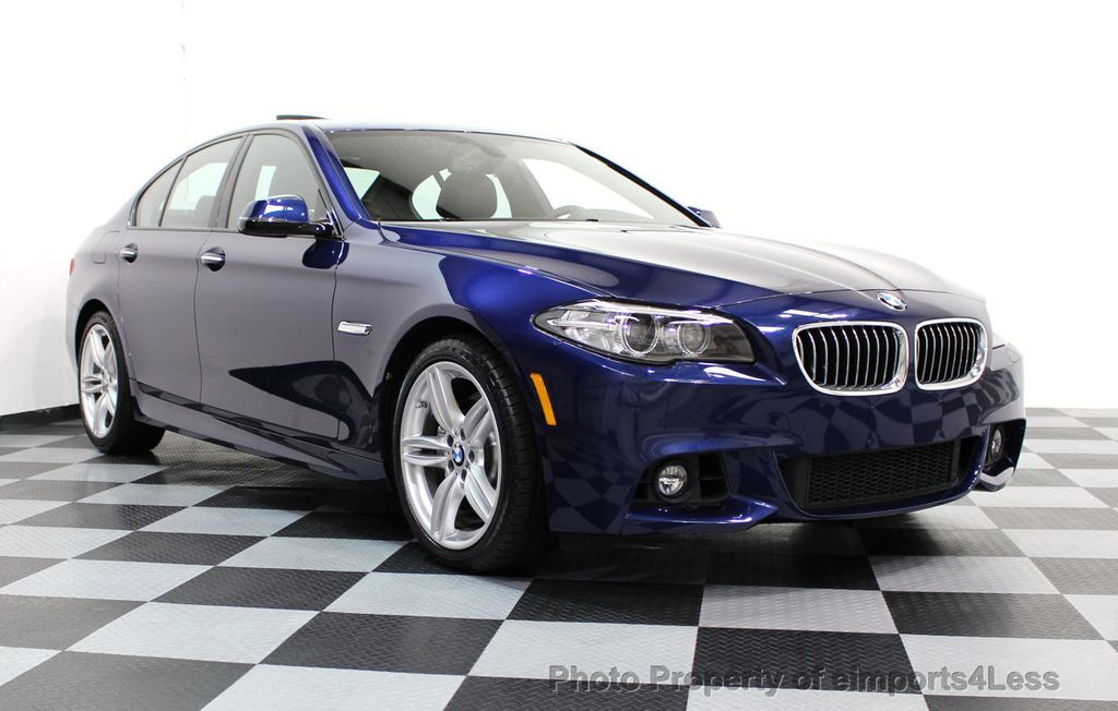 2016 BMW 5 Series CERTIFIED 535i xDRIVE M SPORT AWD DRIVER ASSIST NAVI - 16534938 - 14