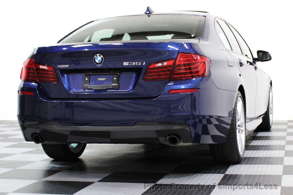 2016 Used BMW 5 Series CERTIFIED 535i xDRIVE M SPORT AWD ...